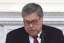 History has its eyes on Barr