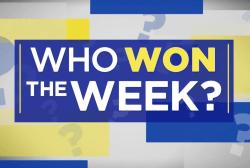 Who won the week? Why Joy says Warren's the week's biggest winner