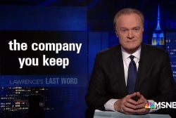 Lawrence's Last Word: the company you keep
