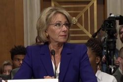 Proposed DeVos budget eliminates federal Special Olympics funding