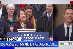 House passes Democratic voting and ethics overhaul bill H.R. 1