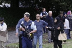 New Zealand mosque shootings kill 49, police say