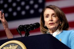 What is Speaker Pelosi's strategy in avoiding impeachment?