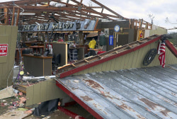 Tornado survivor: 'Everything blew apart,' except for preacher's cross