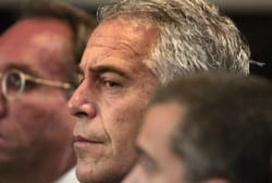 Who are the mystery filers trying to stop document release in Jeffrey Epstein case?