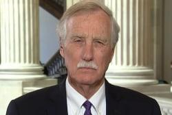 Sen. King: GOP taking on healthcare 'makes no sense policy or politics'