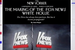 One More Thing: Fox News and the White House