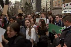 One More Thing: Students walk out of class for climate change action