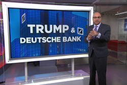 Why Deutsche Bank's history with Trump is being investigated