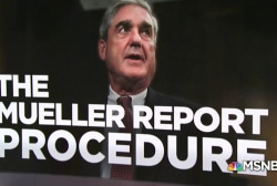 What will happen when Mueller submits his report?