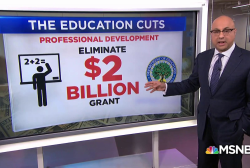 Betsy DeVos proposes to cut billions of dollars from education