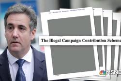 Mueller's early interest in Michael Cohen