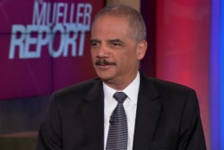 Full Melber-Holder interview: Mueller, MAGA, Wikileaks, Barr & ICE