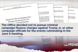 Ari Melber: Why Mueller did not charge Donald Trump Jr.