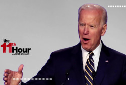 Biden's first comments after 'physical space' controversy