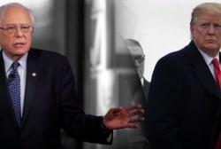 FOX News viewer Donald Trump didn't like seeing Bernie Sanders on FOX News