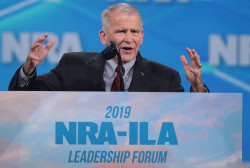 Oliver North steps down as president of NRA, won't serve second term