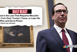 Mnuchin could be in legal trouble if he doesn't hand over Trump's tax returns