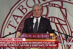 NYT: Rift between Mueller & Barr developed over probe