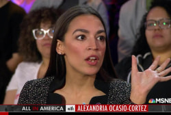 Alexandria Ocasio-Cortez addresses whether or not the Green New Deal is socialist