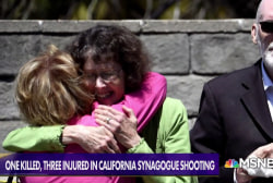 Rabbi who survived synagogue shooting tells suspect, 'hating Jews is hating humanity.  We are all humans..'