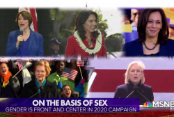 On the basis of sex: gender looms large in 2020 race