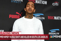 Rapper Nipsey Hussle killed in shooting outside his L.A. store