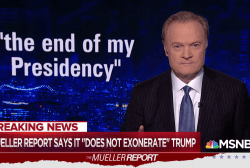 Lawrence's analysis of the Mueller report