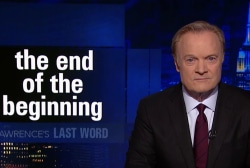 Lawrence's Last Word: the end of the beginning of the investigations of Donald Trump