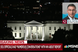 DOJ had 'numerous conversations' with W.H. on Mueller report: NYT