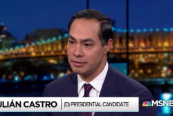 Julián Castro reacts to accusations against Joe Biden