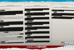 Mueller report shows many cases continuing, hidden from public