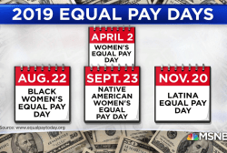 A closer look at the gender pay gap on Equal Pay Day
