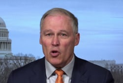 2020 candidate Jay Inslee's climate concerns