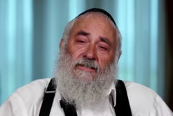 Rabbi Goldstein's emotional recounting of deadly synagogue attack