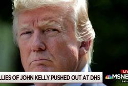 Trump's fury incites upheaval at DHS