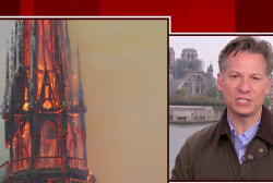 Arson, terrorism ruled out in Notre Dame fire