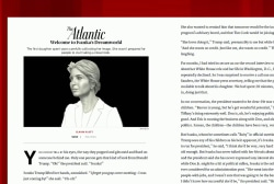 New Atlantic writing focuses on Mueller, Ivanka, college
