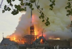 The 'elemental crisis' of the Notre Dame fire