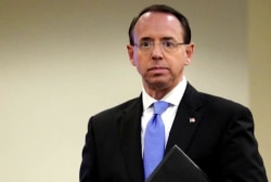 Rod Rosenstein submits resignation letter