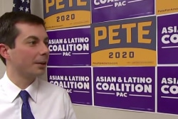 How Pete Buttigieg responded to hecklers in Iowa