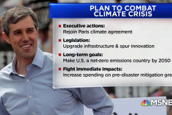How Beto's climate plan compares to the Green New Deal