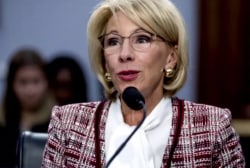 Betsy DeVos wants to cut federal work-study program funds