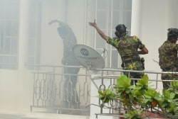 Explosions targeting churches and hotels kill over 100 in Sri Lanka