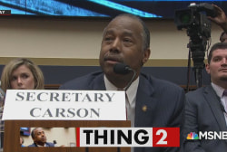 Secretary Ben Carson gets a grilling from Congress