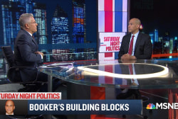 How Sen. Booker turned an unexpected childhood fear, public speaking, into a strength