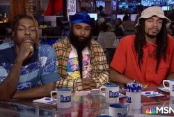 Rare: Brooklyn rap group Flatbush Zombies take over TV newscast