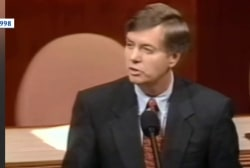 See the striking video revealing GOP impeachment hypocrisy
