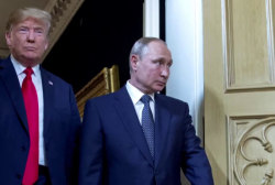 Pelosi leaves impeachment on the table as Trump calls Putin