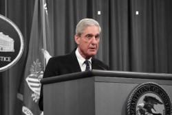 Robert Mueller's full remarks on his Trump-Russia investigation